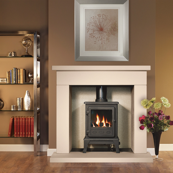 Gallery Durrington 42 Fireplace with optional Firefox 5 Gas Stove ...
